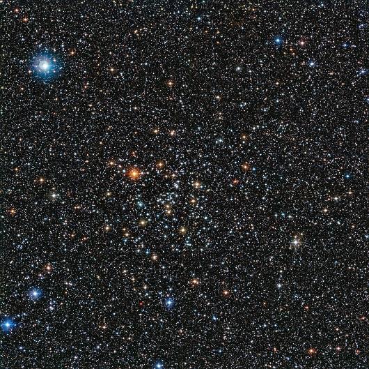 Aglomerado de estrelas IC 4651, onde o exoplaneta descoberto está localizado (Foto: ESO)