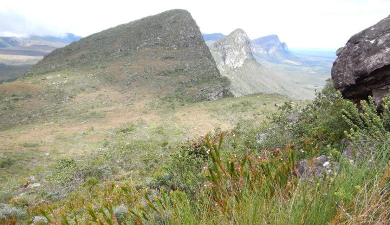 Vista panorâmica da serra do Espinhaço, em Minas Gerais (Foto: Matt Lavin/Flickr - creativecommons.org/licenses/by-sa/2.0 - versão modificada)