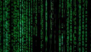 Black screen with green number strings, representing byts and bytes (Image: Markus Spiske/Unsplash)